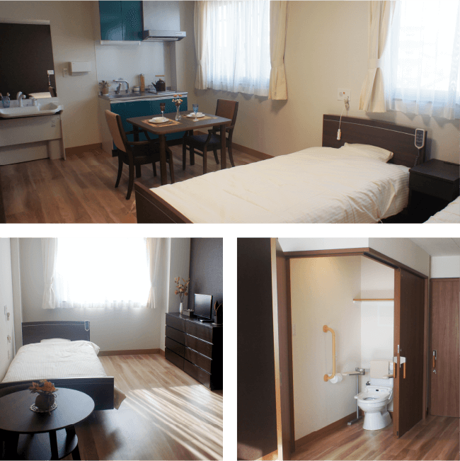 多様化する「生活様式」に合わせた お部屋をご用意しております。